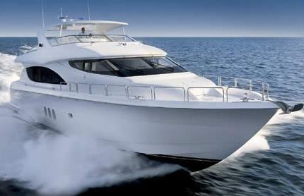 2008 Hatteras 80 Motor Yacht