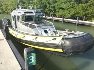 2007 Safe Boat Patrol Boat