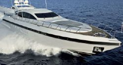 Used 72' Mangusta yacht for sale