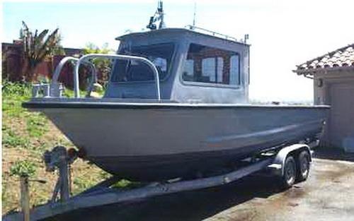 1983 Monark Utility Boat