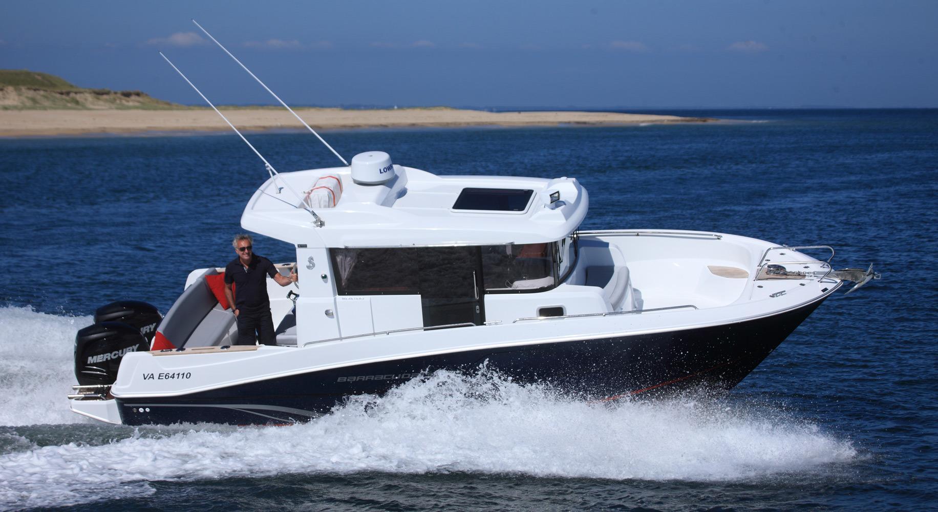2015 beneteau barracuda 9 motor yacht for sale