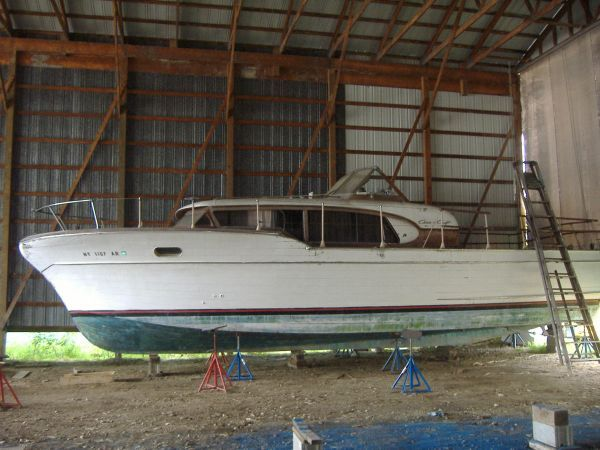 1958 Chris Craft Constellation Power Boat For Sale Www