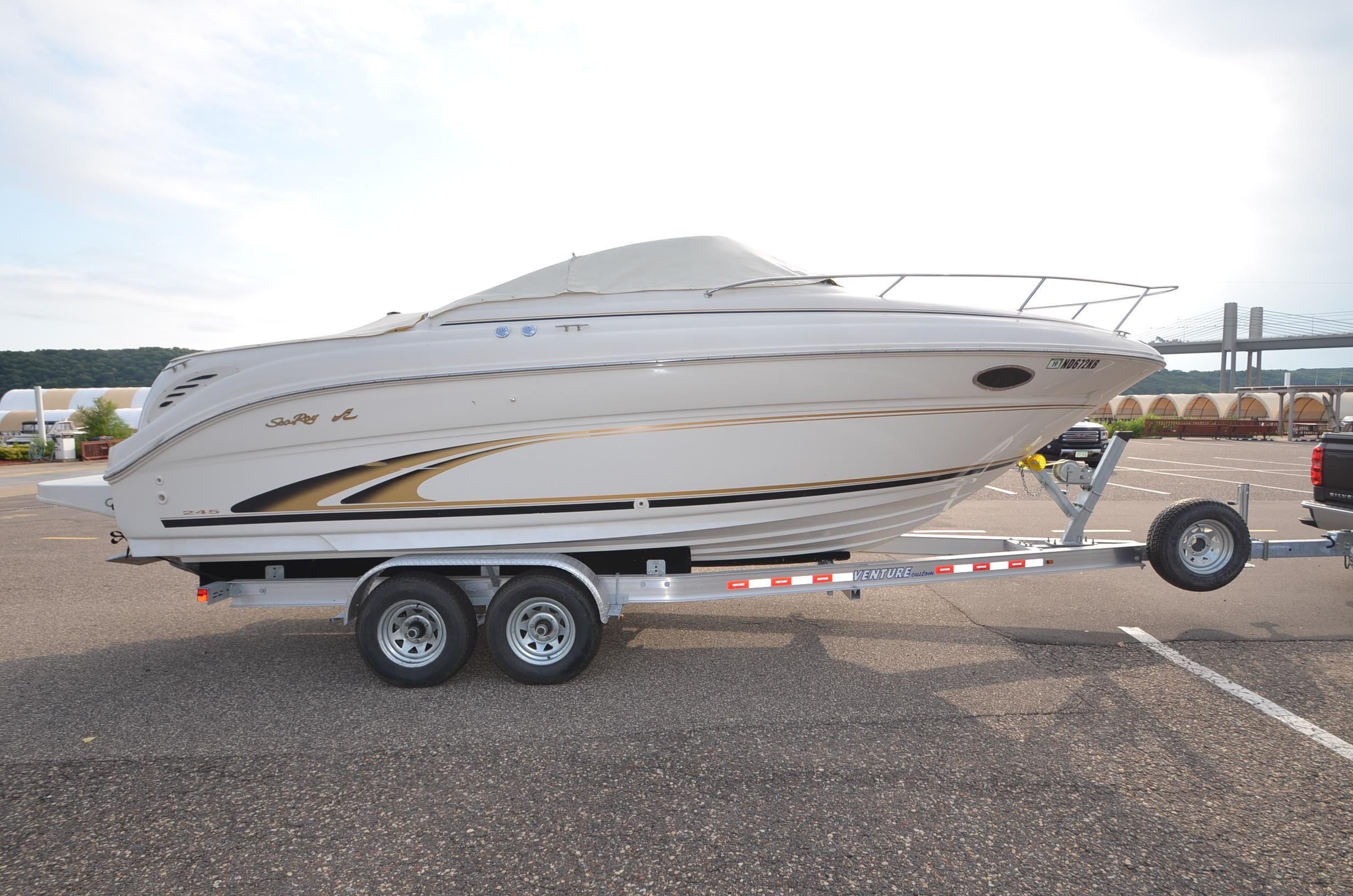 2001 Sea Ray 245 Weekender Power Boat For Sale Www