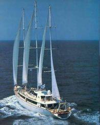 1993 Three Masted Steel Sail/cruiser