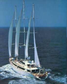 1993 Three Masted Steel Sail/cruiser