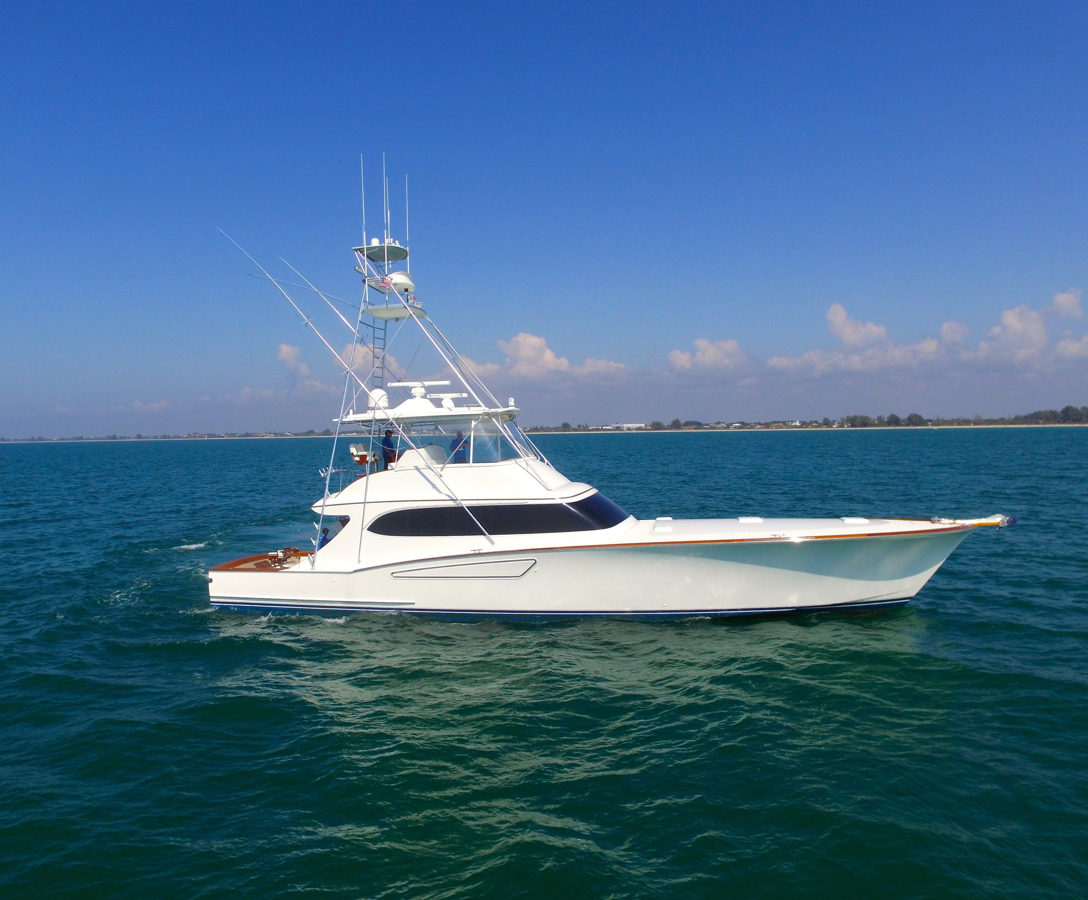 2008 Mark Willis 76 Custom Sportfish Power Boat For Sale