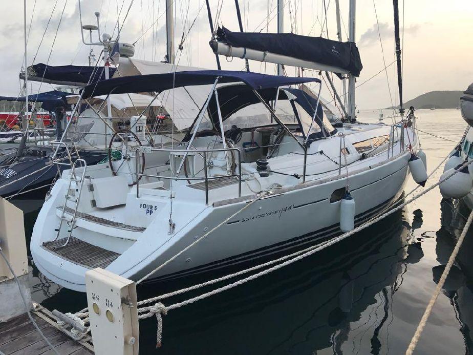 2010 Jeanneau Sun Odyssey 54 Ds Sail Boat For Sale Www Yachtworld Com