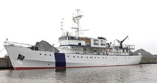 1951 Standby Guard Expedition Vessel Rebuild 2012
