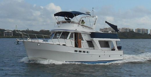 1987 Sea Ranger Trawler Pilothouse