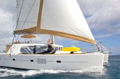 photo of 50' charter business Lagoon 500
