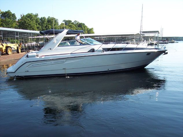 40 ft 1997 bayliner 4085 avanti