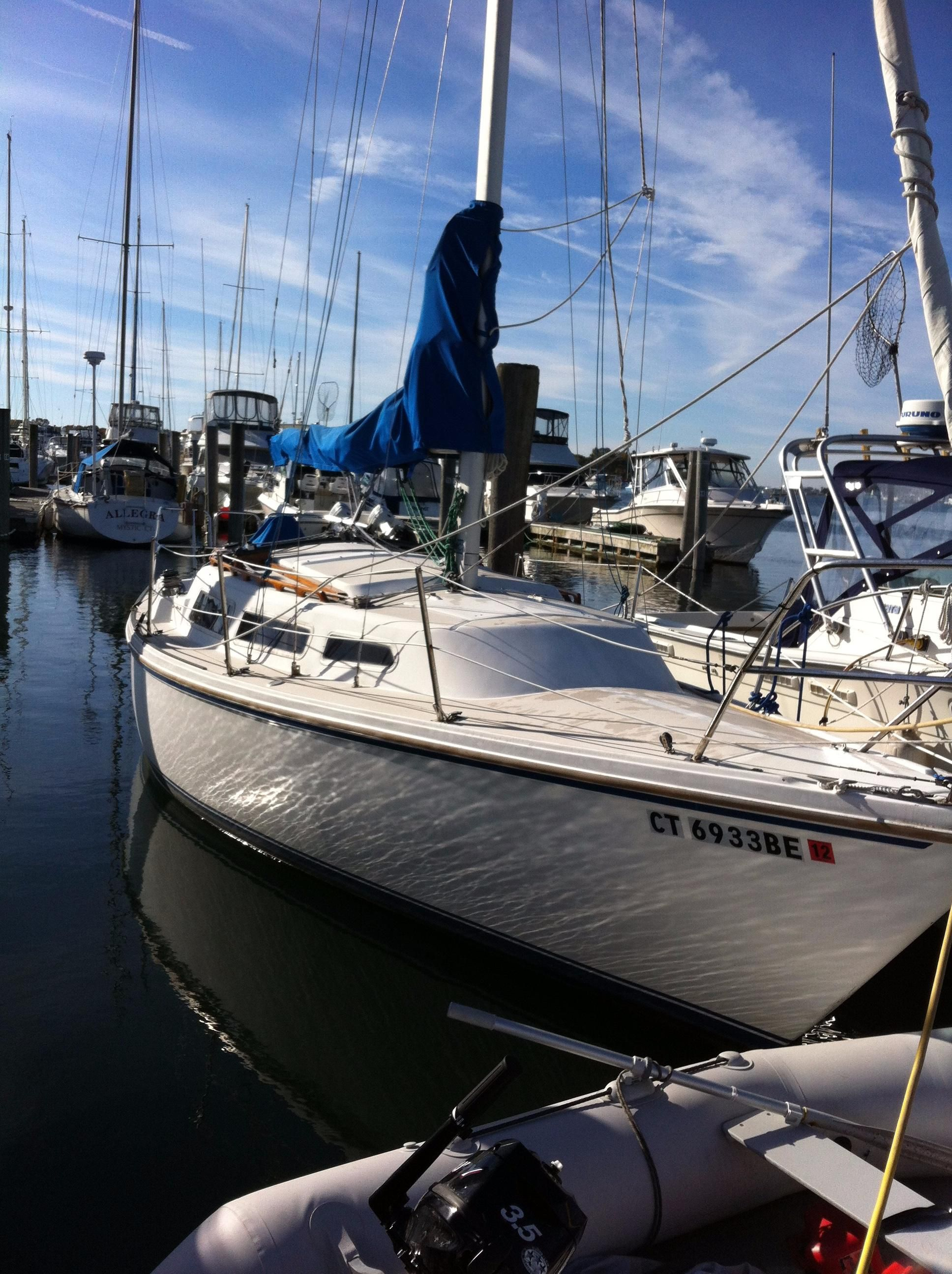 1983 Catalina 27 Sail Boat For Sale - www yachtworld com