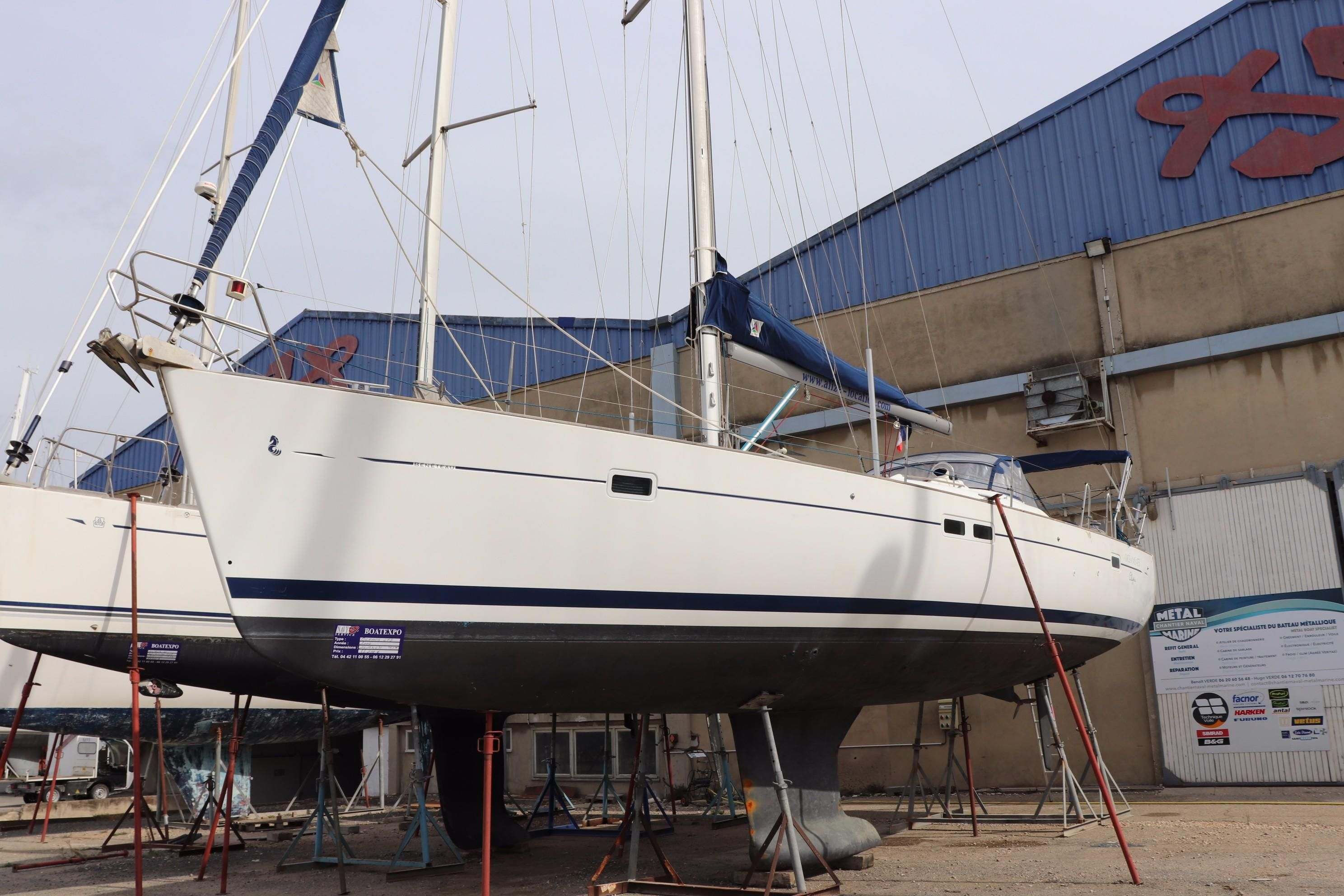 2004 beneteau oceanis 473 sail boat for sale - Navy service port st louis du rhone ...