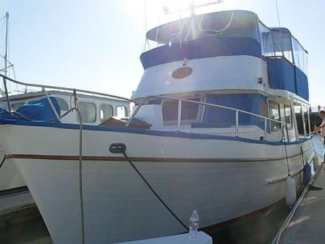 1979 Marine Trader Europa Trawler With Slip