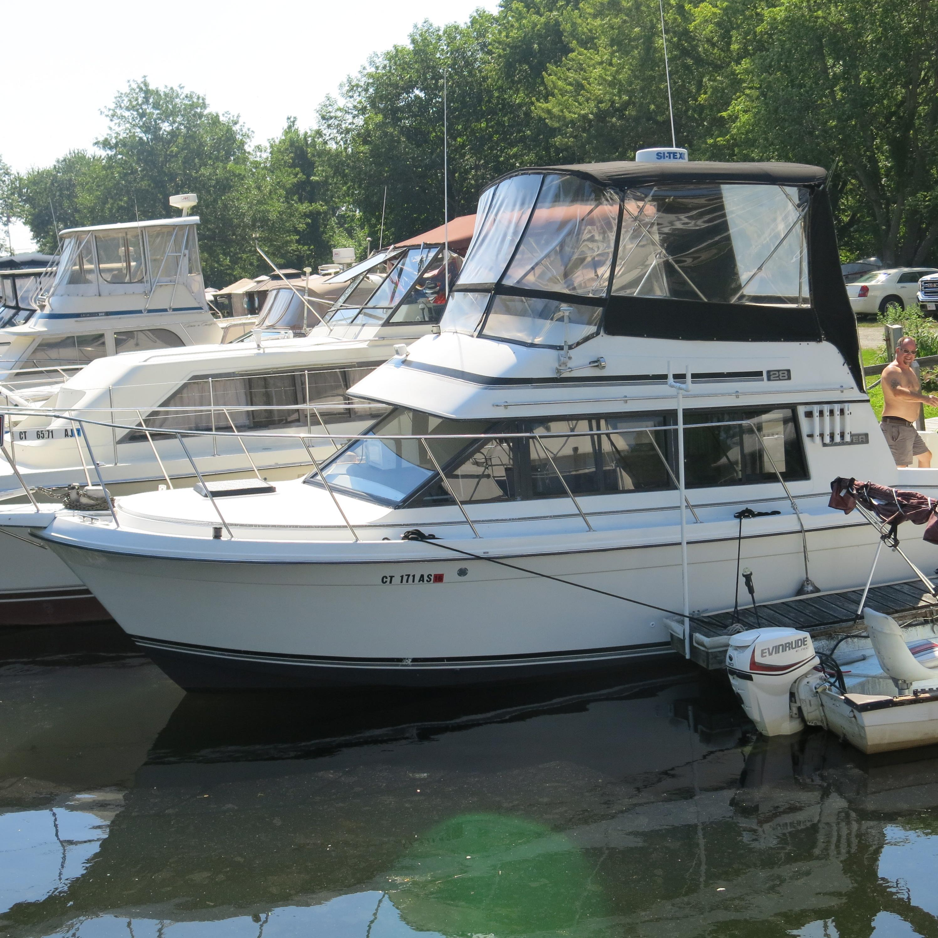 1987 Carver Mariner 28 Power Boat For Sale - www ...