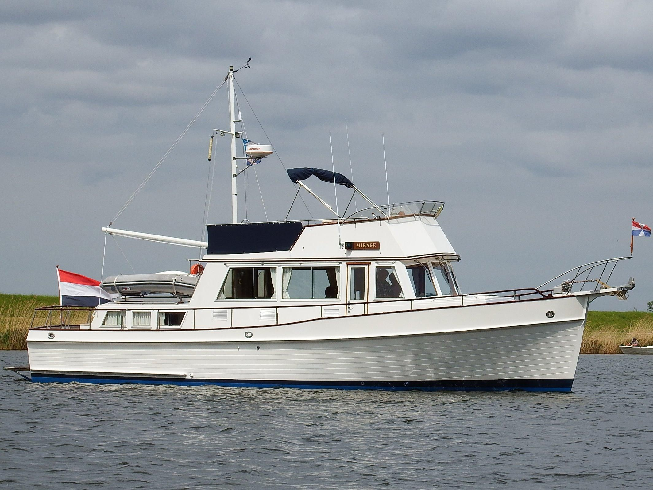 1989 Grand Banks 42 Classic Power Boat For Sale Www