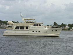 Long range cruiser yacht