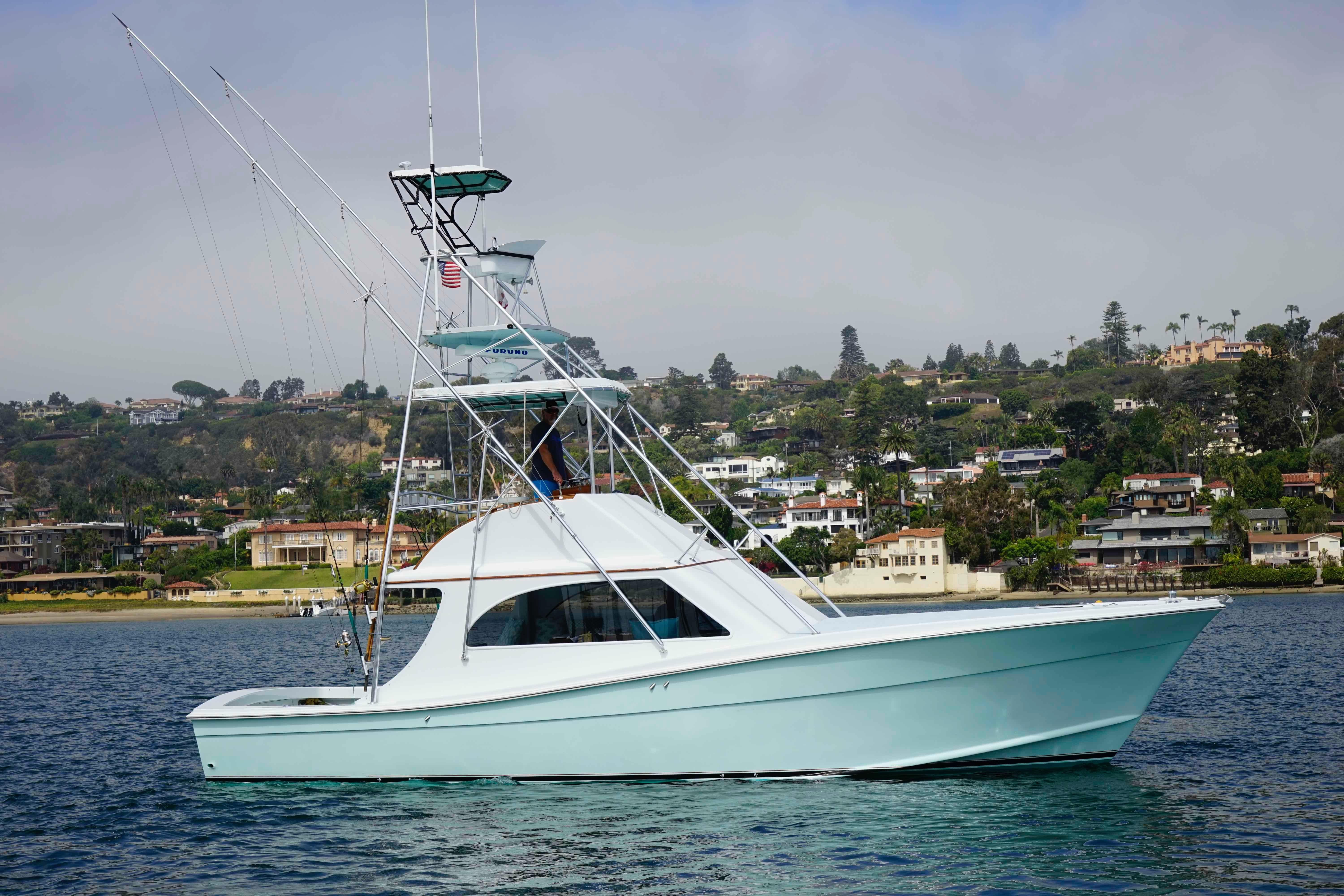 1984 topaz 40 express power new and used boats for sale for Craigslist fishing boats for sale