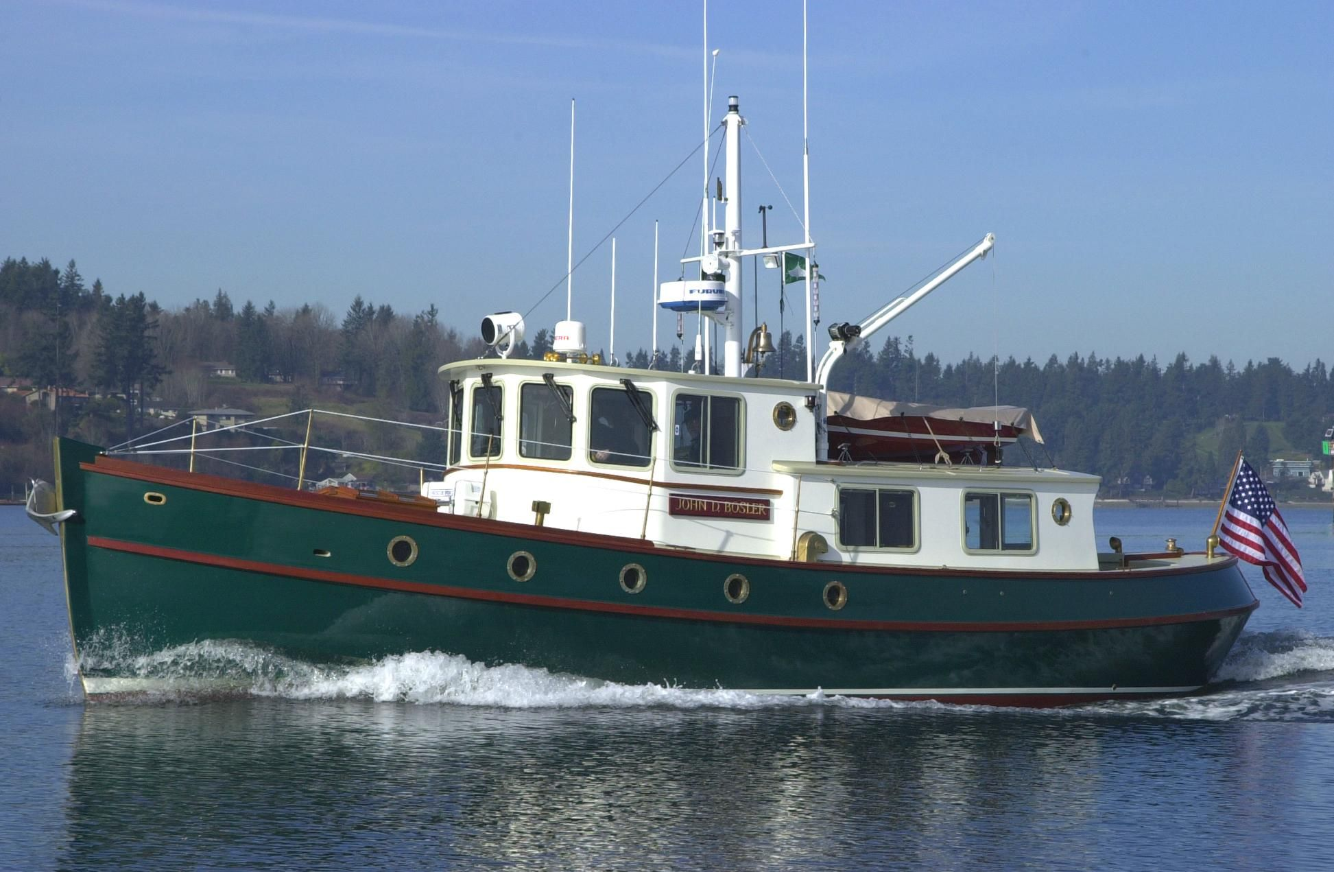2000 Devlin Sockeye 42' Trawler Motor Boot te koop - nl.yachtworld.com