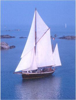 1914 Barriere Shipyard Tallship French Yawl