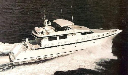 1991 Sachses 88 motor yacht