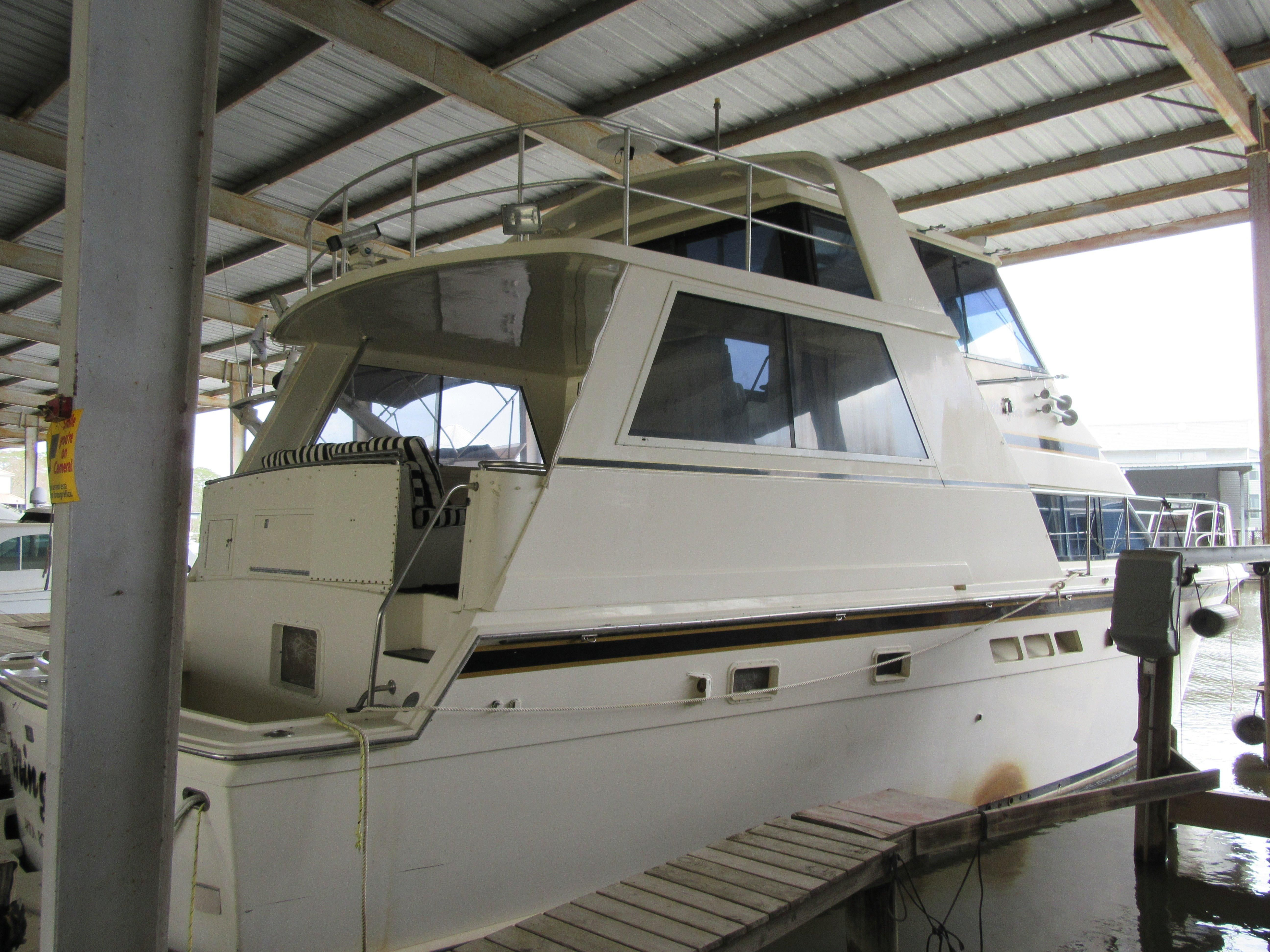 1991 hatteras 52 cockpit motor yacht power new and used for Klakring motor co annapolis