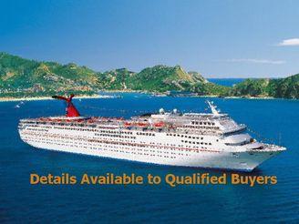 1998 Cruise Ship, 2052/2632 -Stock No. S2158