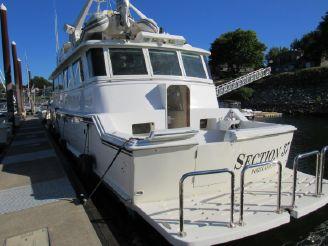 thumbnail photo 2: 1986 Hatteras Motoryacht