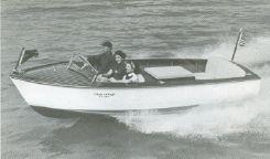1955 Chris Craft 17' Kit Speedboat
