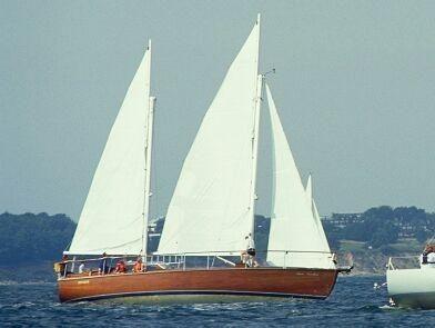 1998 Sailboat Steel Gaff Ketch 43