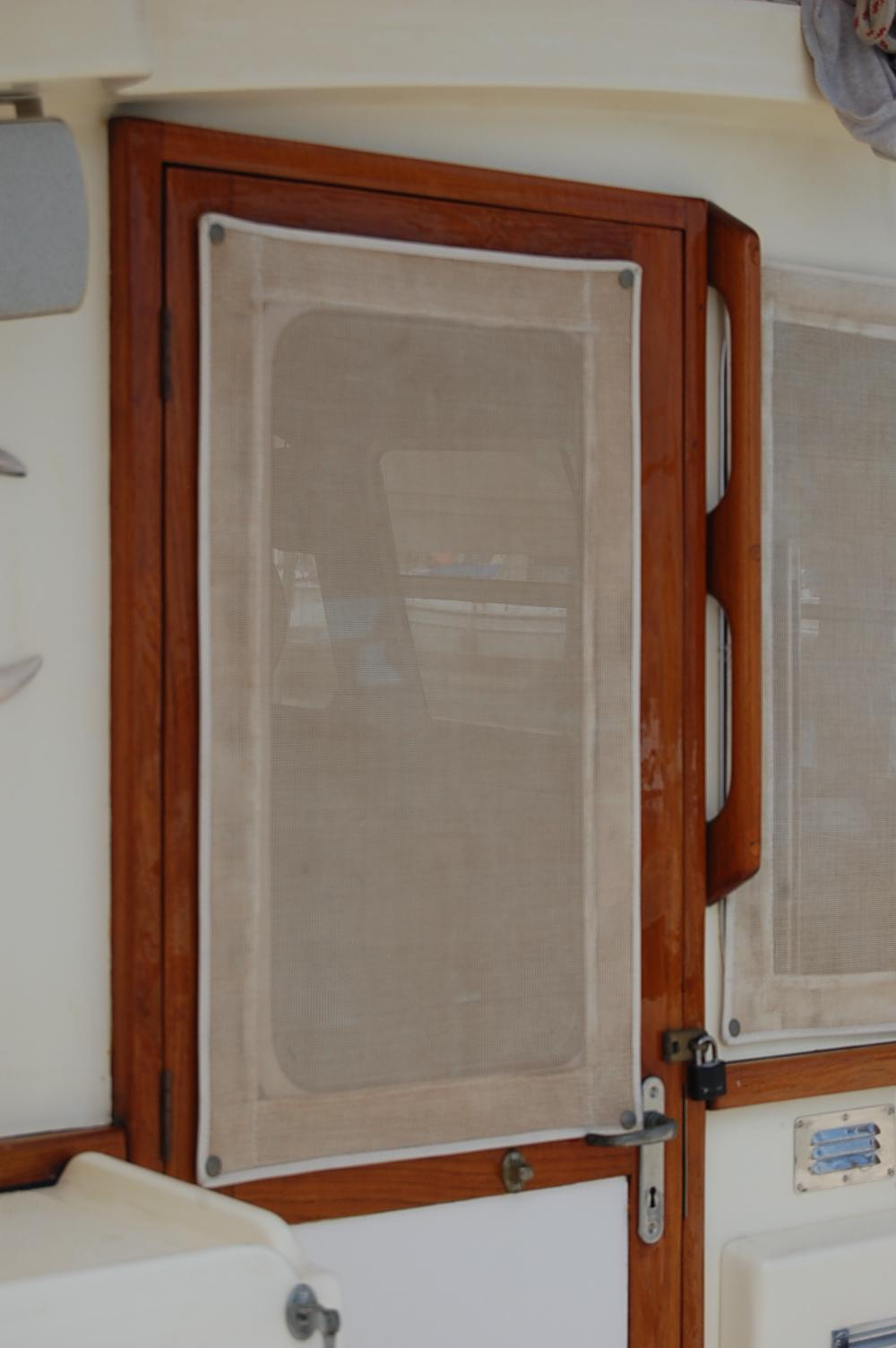 32' Fisher Pilothouse Catamaran+New Varnish - April 2013