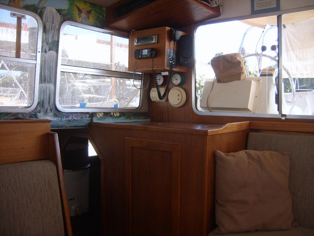 32' Fisher Pilothouse Catamaran+Dinghy