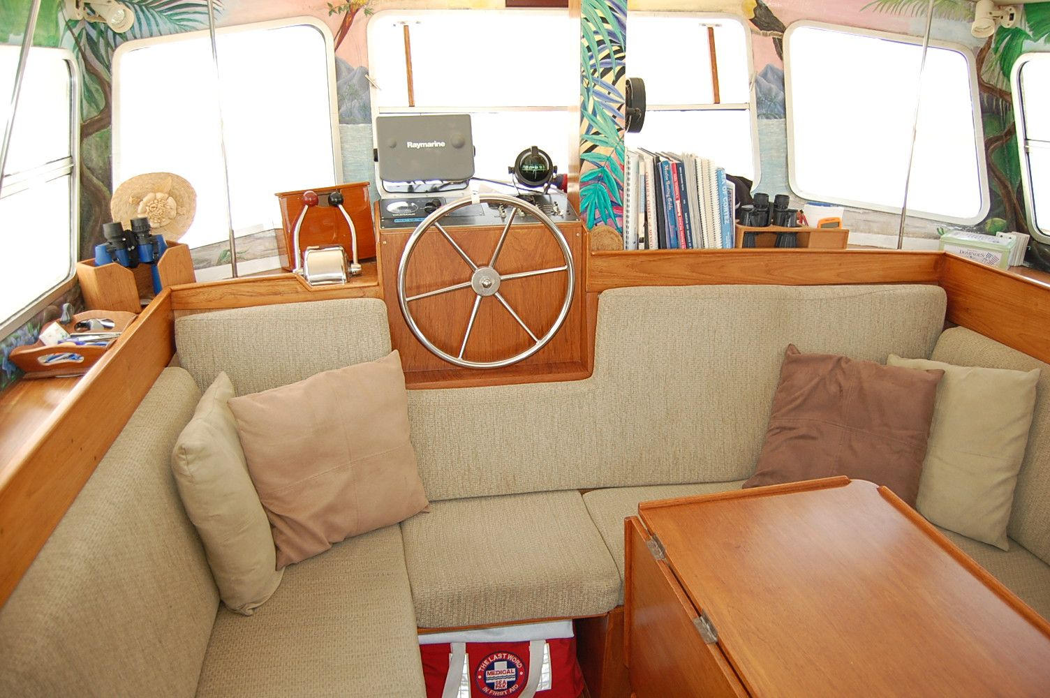 32' Fisher Pilothouse Catamaran+Master Berth