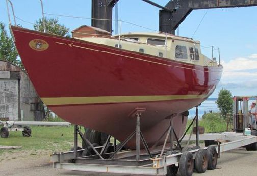 1965 Seafarer 36 Custom high cabin sloop