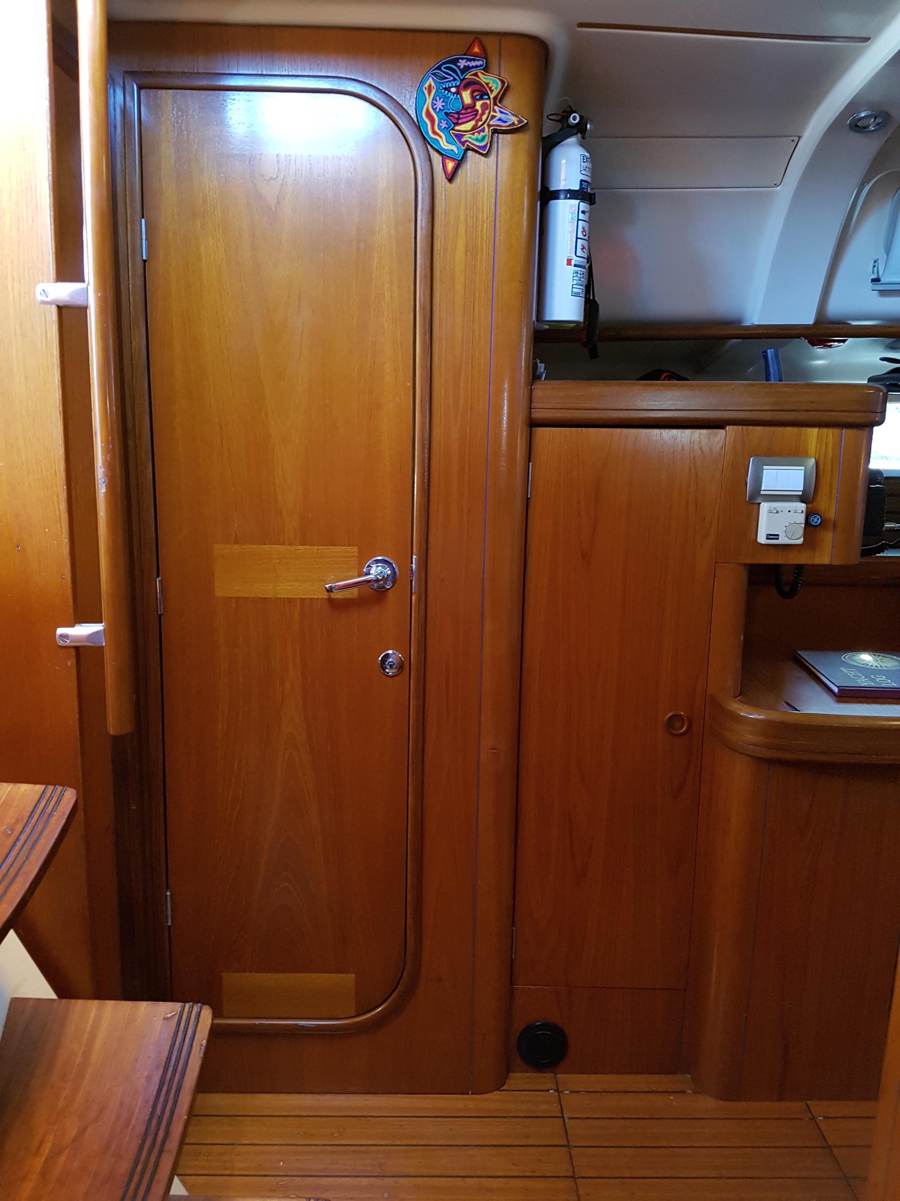 40' Beneteau Oceanis 400+Galley looking Aft