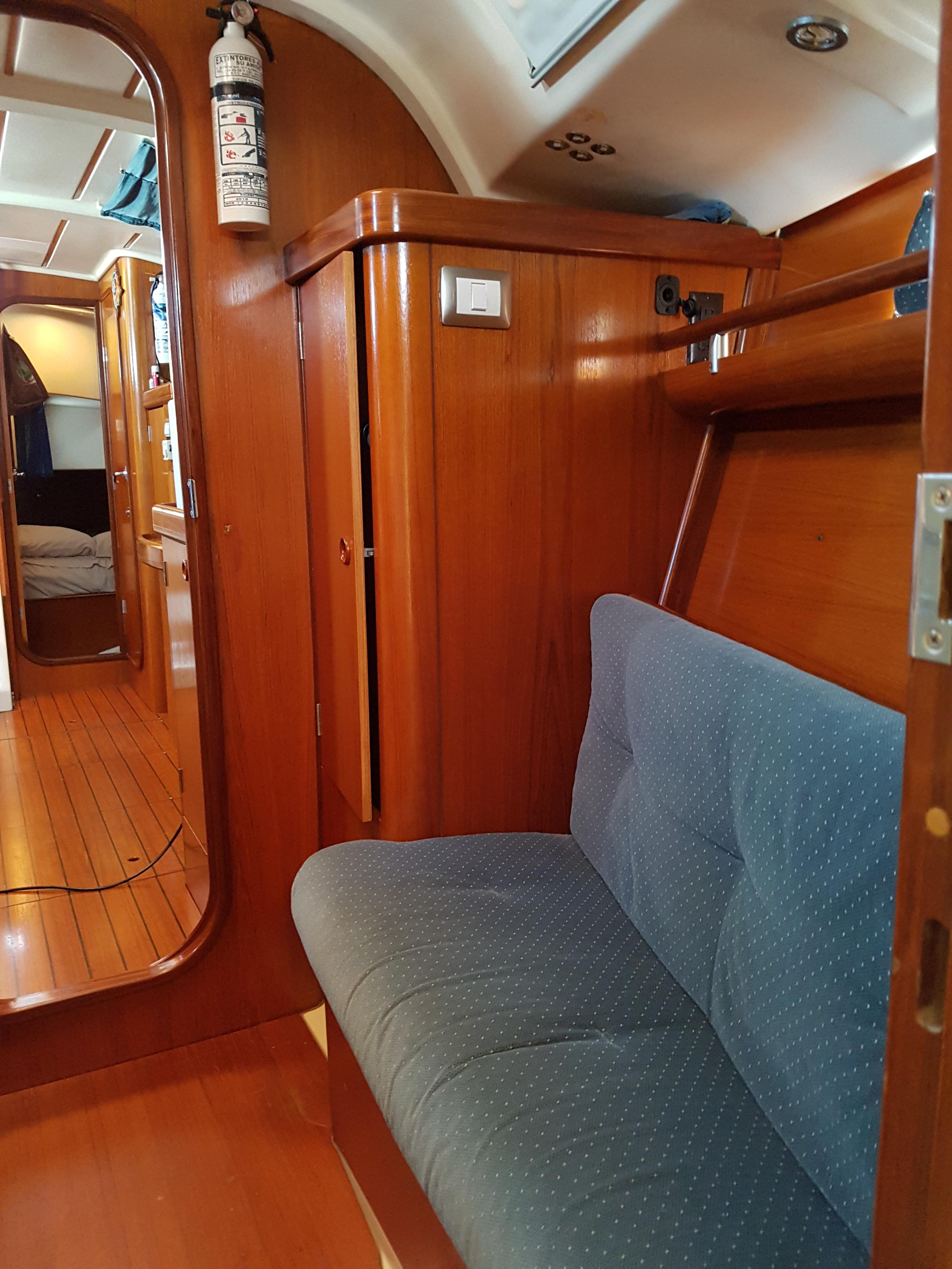 40' Beneteau Oceanis 400+Looking forward Into V-Head