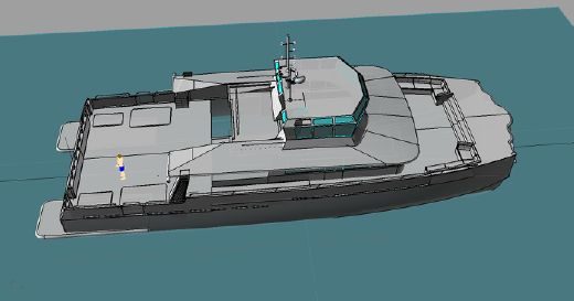 2014 Fifth Ocean Yachts Brilliant Boats Shadow vessel