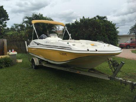 2012 Hurricane 188 deck sport
