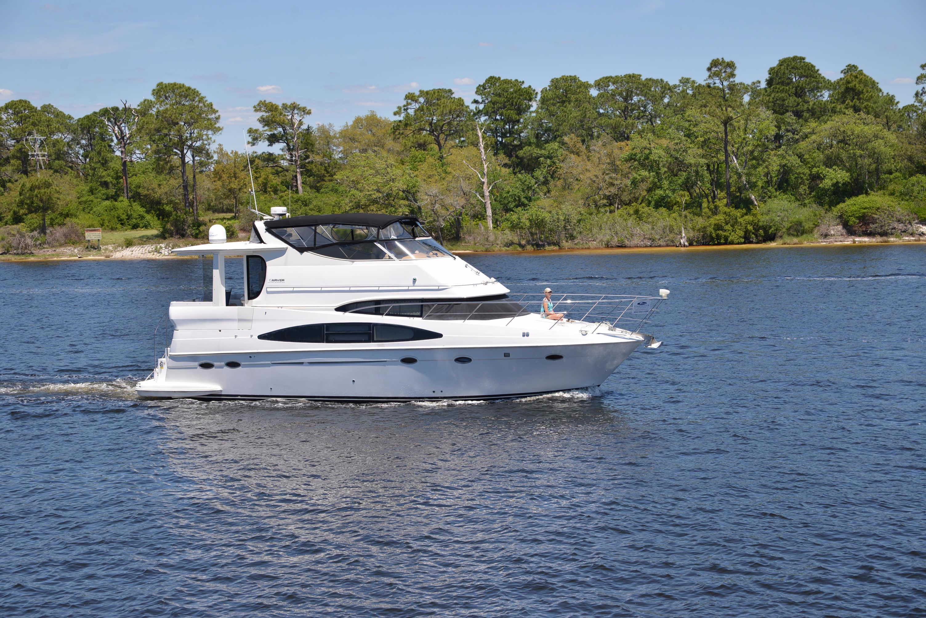 2001 Carver 466 Motor Yacht Power Boat For Sale - www ...