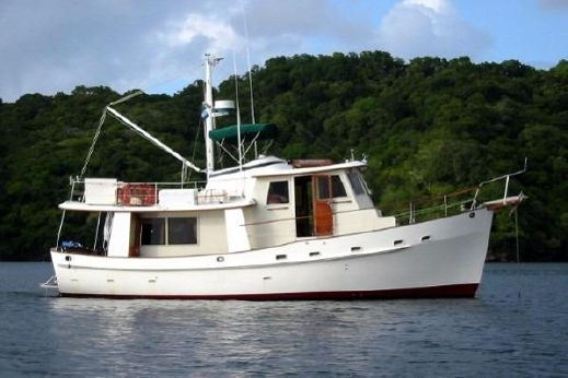 1987 Kadey Krogen Pilothouse Trawler