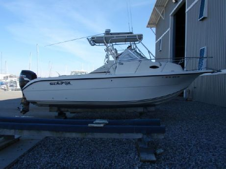 2007 Sea Fox 257 walkaround