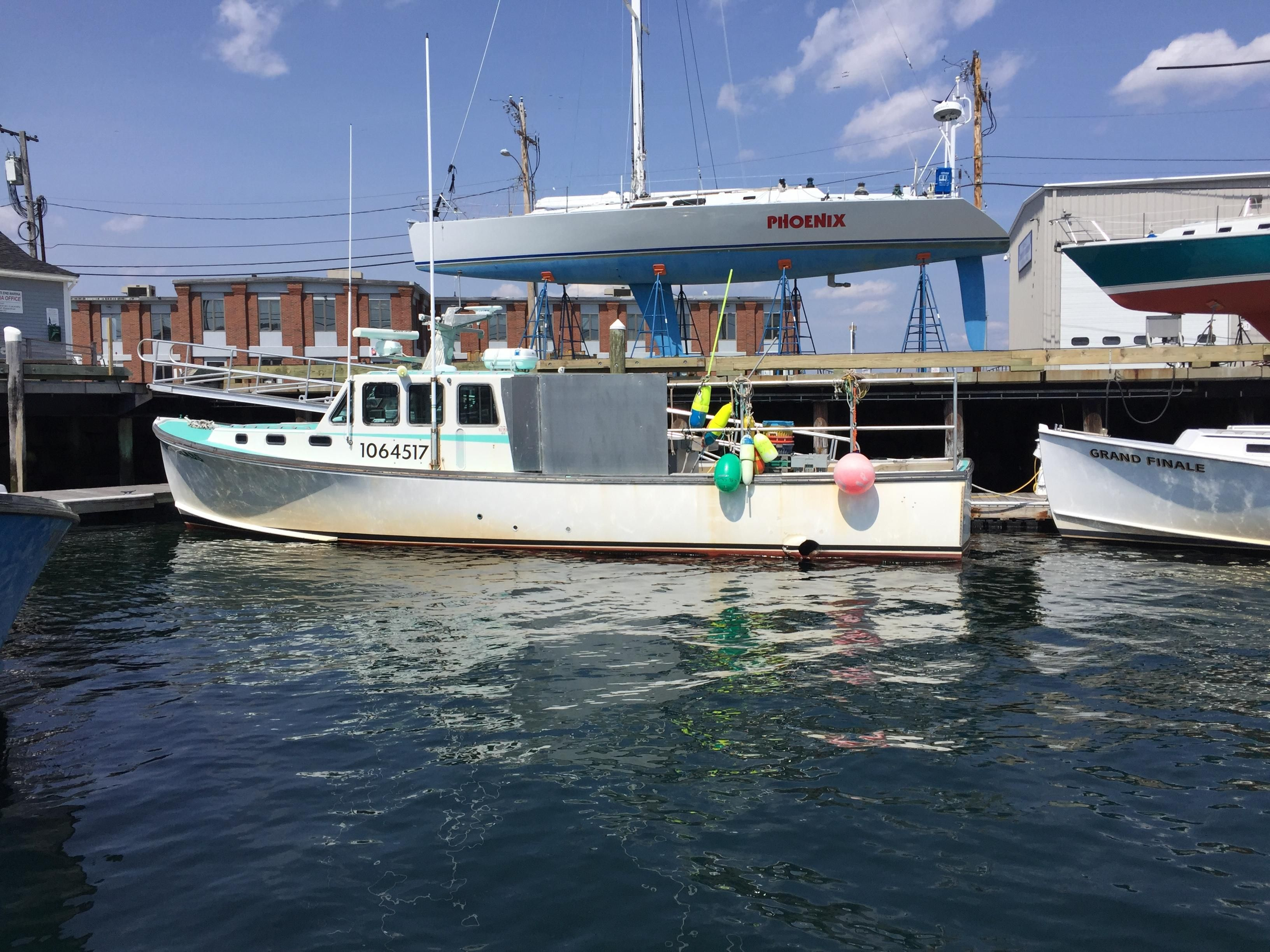 1998 wesmac lobster fishing boat power boat for sale www for Fishing boat dealers near me