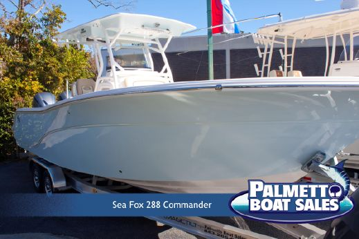 2018 Sea Fox 288 Commander