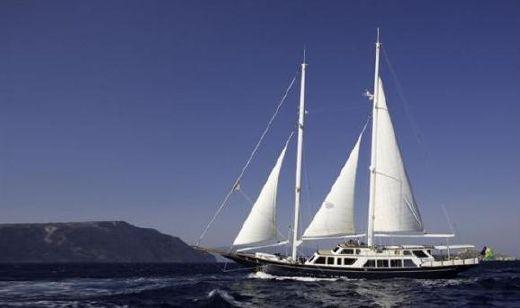 1994 Greek Custom Staysail Schooner 123'