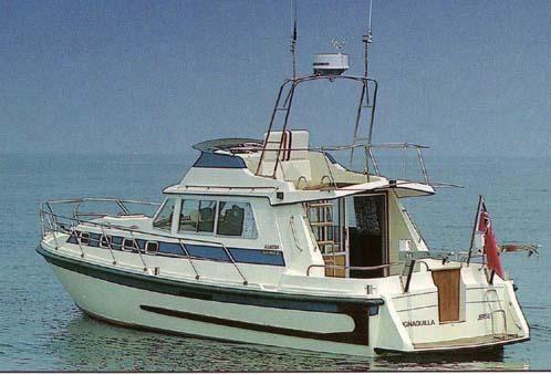 1993 Aquastar 38 Oceanranger