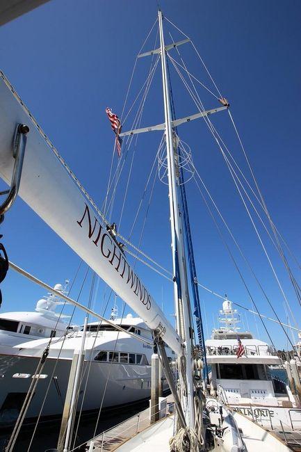Cheoy Lee 63 Motorsailer Mast Rigging
