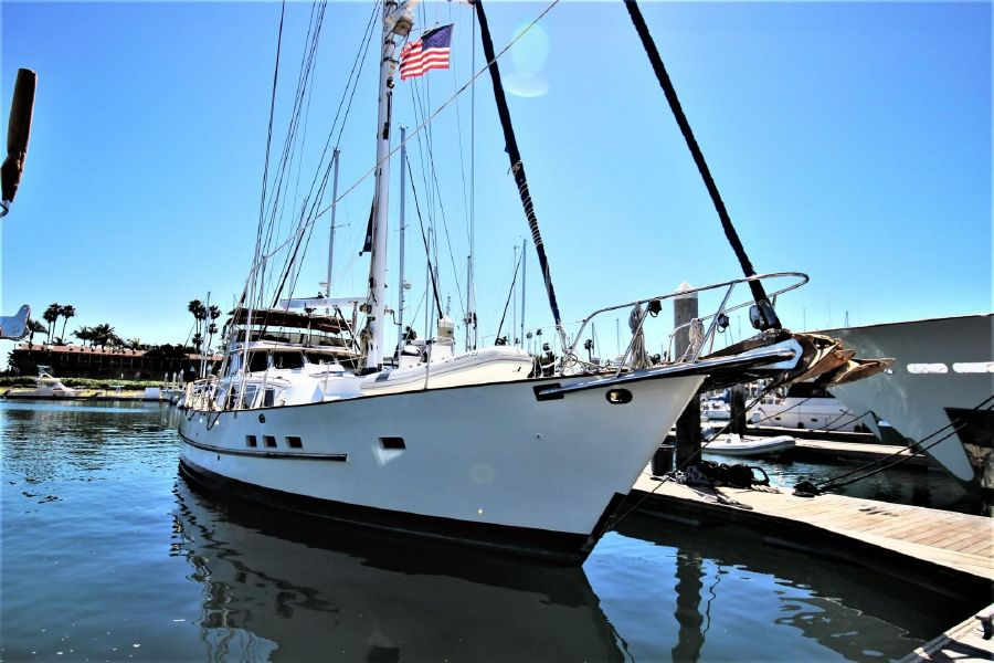 Cheoy Lee 63 Motorsailer Yacht for sale in San Diego