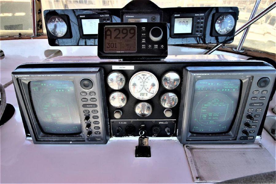 Cheoy Lee 63 Motorsailer Electronics