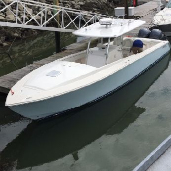 2013 Jupiter 38 Center Console Cuddy