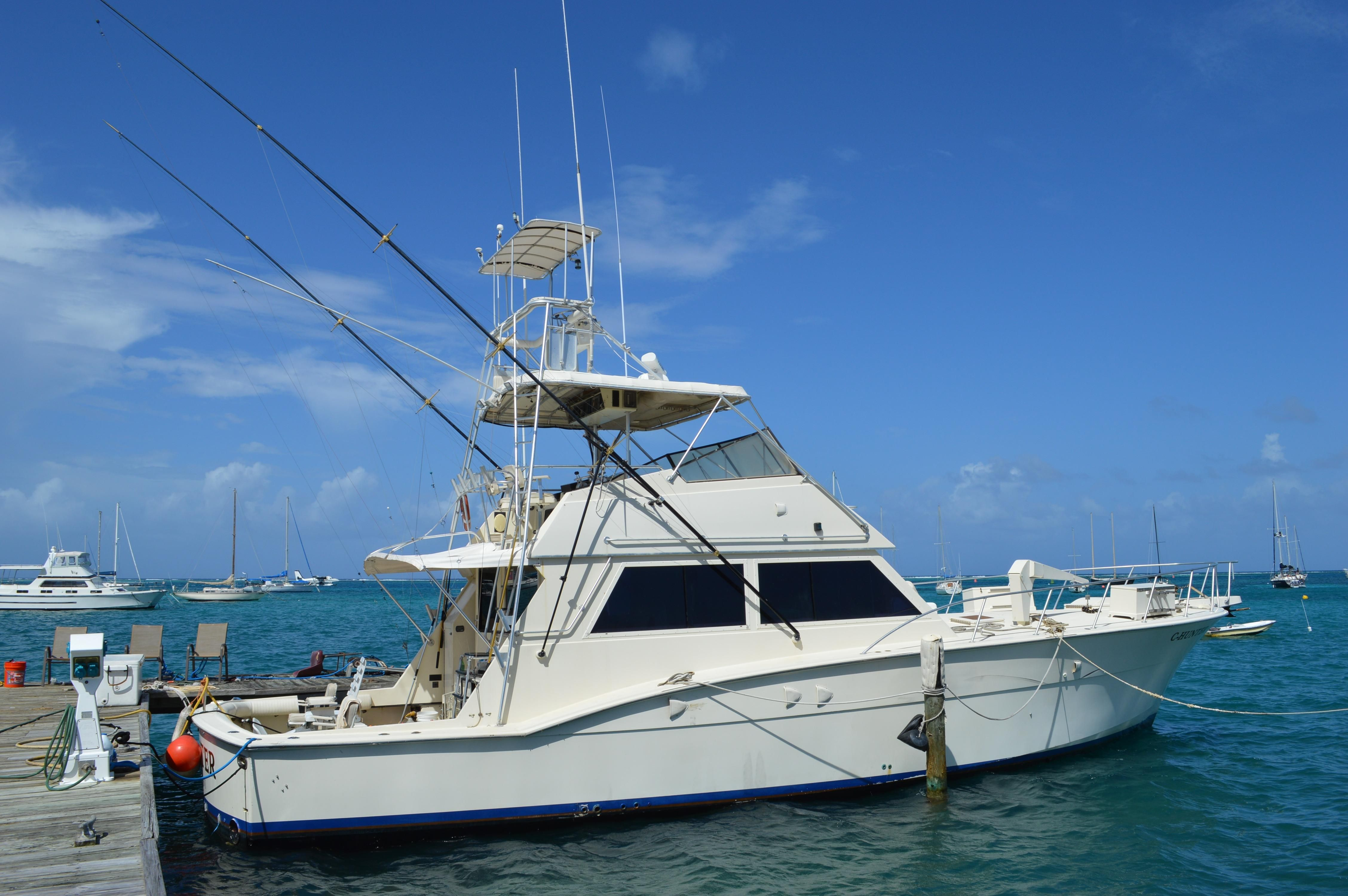 1981 hatteras 55 convertible power boat for sale www for Hatteras fishing boat